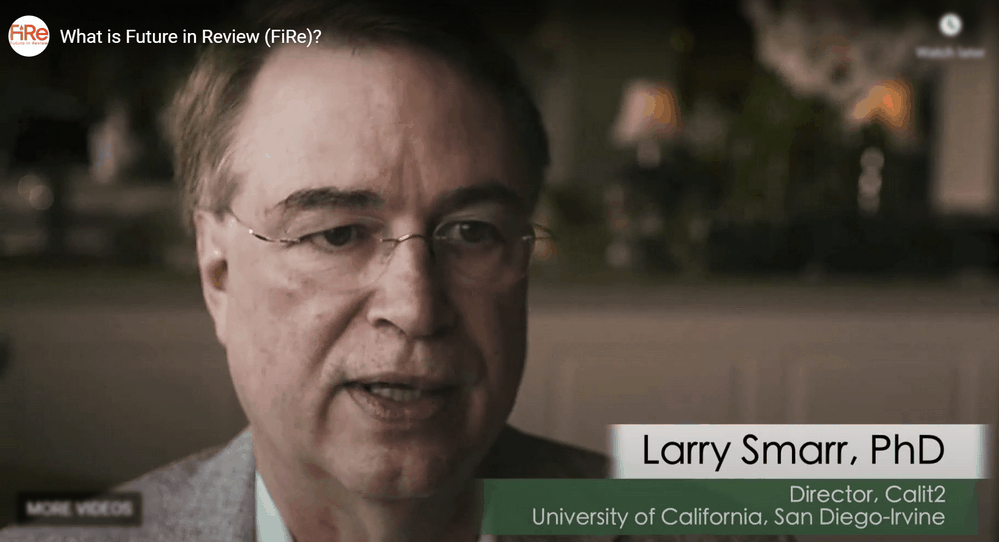 larry smarr phd - speaking