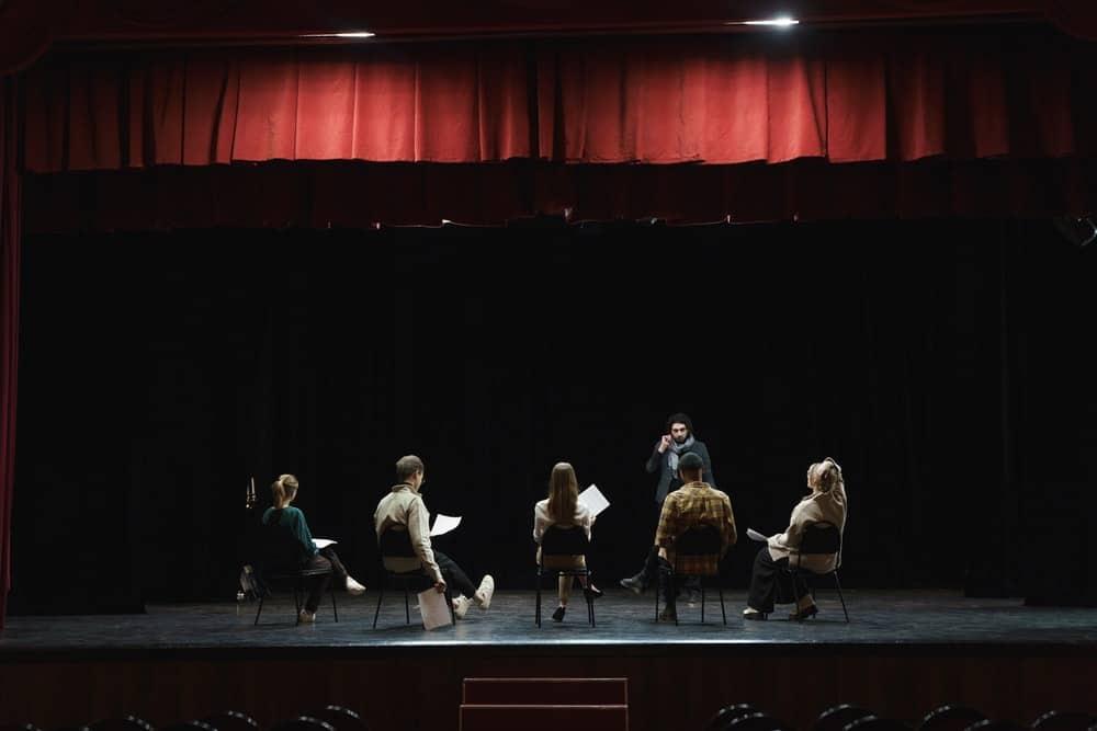 play reading rehearsal